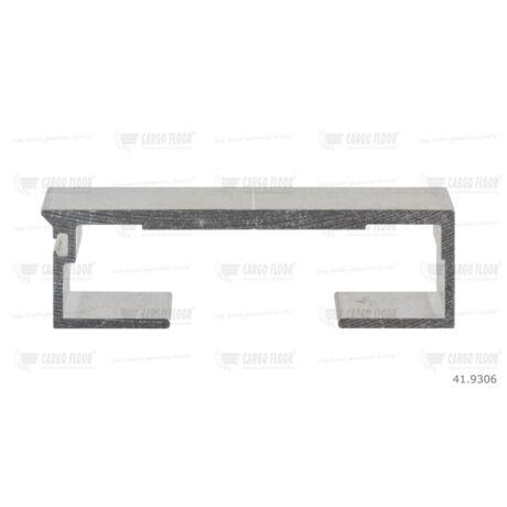 Cargo Floor Alu léc profil 6/97mm sima - szimpla tömítéshez