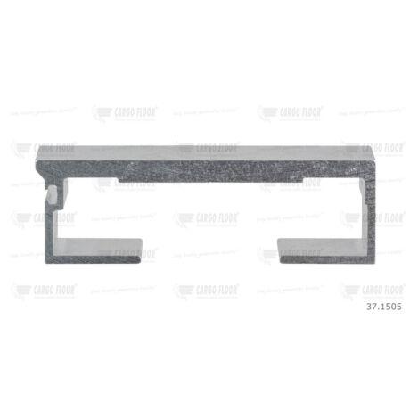 Cargo Floor Alu léc profil 8/112mm sima - szimpla tömítéshez
