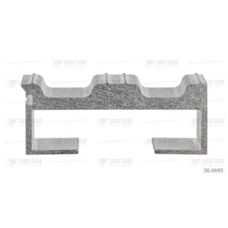 Cargo Floor Alu léc profil 8-18/112mm HDI - szimpla tömítéshez