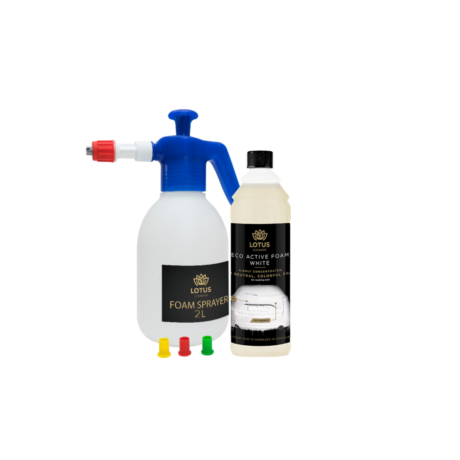 LOTUS Eco Active Foam White+ Lotus Foam Sprayer