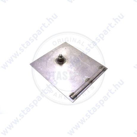 GRAIN HATCH STAINLESS STEEL PLATE BARN DOOR