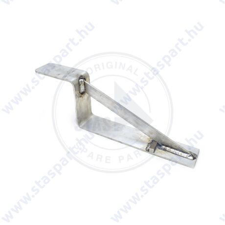 L alakú ponyvatartó konzol ( fix )