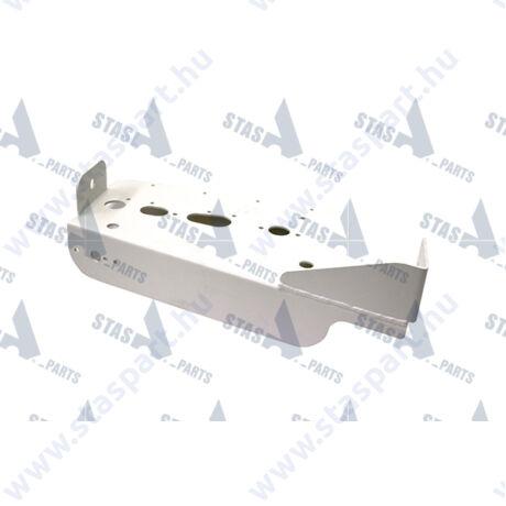 Bal oldali lámpatartó konzol RAL 9010
