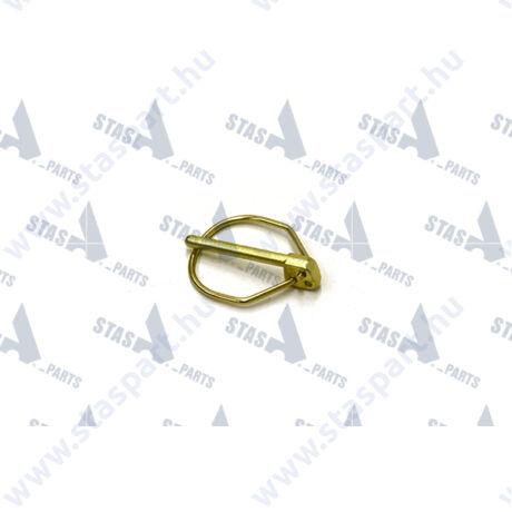 RÜBIG DIN LINCH PIN - DIN 11023 - DIN 8X62 - 0 7,5 MM - D2 53 MM - YELLOW GALVANISED - 01752900